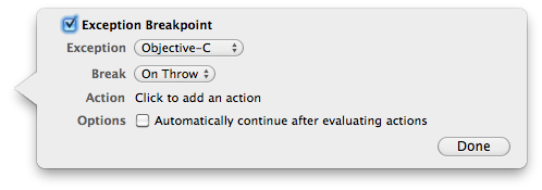 ExceptionBreakpointPopover